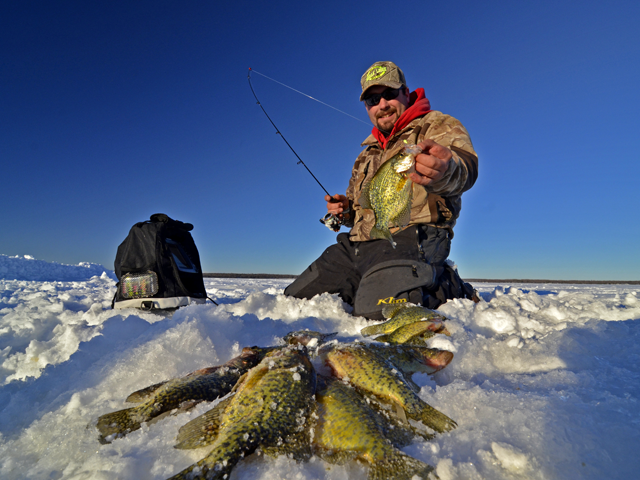 February ice fishing reports ice fish mn 2014 archive for Idaho ice fishing report