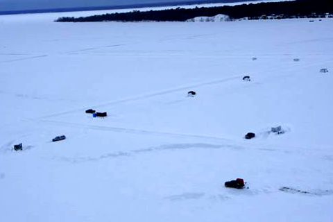 January ice fishing reports ice fish mn 2014 archive for Lake winnie fishing report