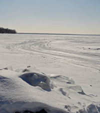 Ice fishing report archive minnesota february 2015 for Bowstring fishing report